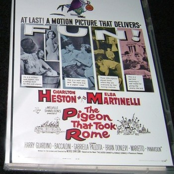 THE PIGEON THAT TOOK ROME 1962 DVD