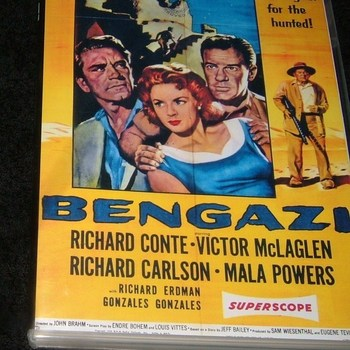 BENGAZI 1955 DVD