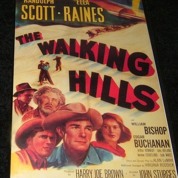 THE WALKING HILLS 1949 DVD
