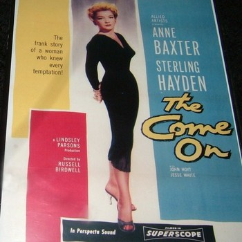THE COME ON 1956 DVD