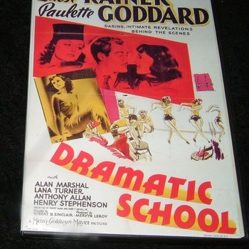 dramatic school 1938 dvd