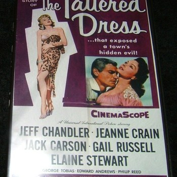 the tattered dress 1957 dvd