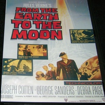 from the earth to the moon 1958 dvd