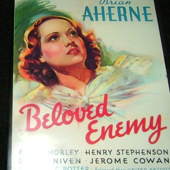 beloved enemy 1936 dvd