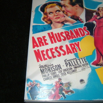 are husbands necessary 1942 vd