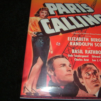 paris calling 1941 dvd