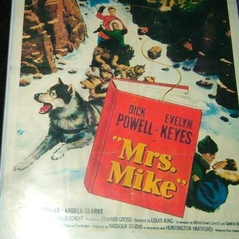 mrs.mike 1949 dvd