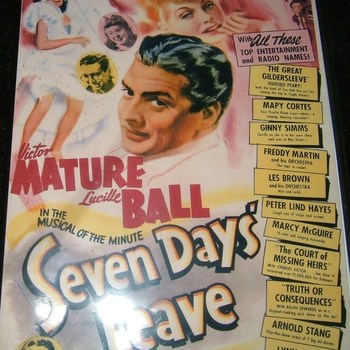 seven days leave 1942 dvd