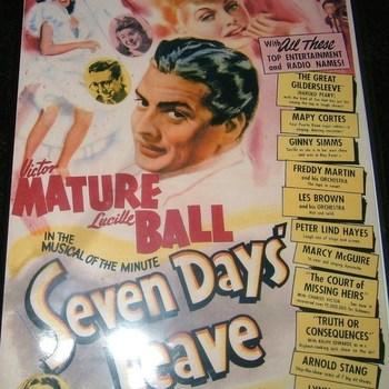 seven days leave 1942 dvd