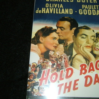 hold back the dawn 1941 dvd