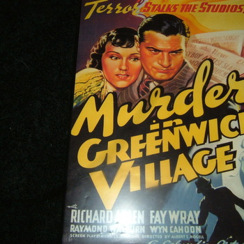 murder in greenwich village 1937 dvd
