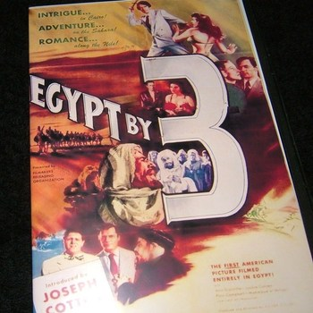egypt by 3 1953 dvd