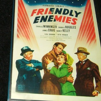 friendly enemies  1942 DVD