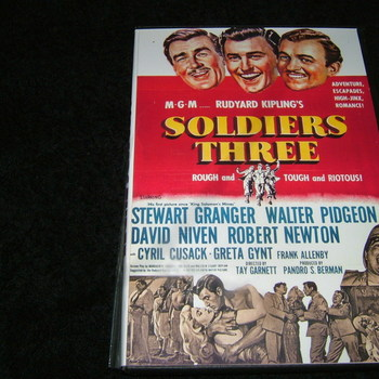 soldiers three 1951 dvd