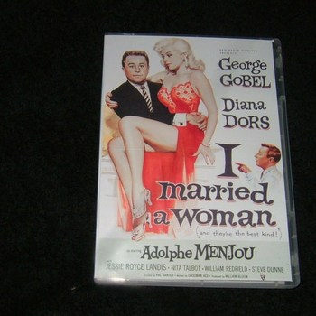 i married a woman 1958 dvd