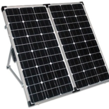 Waterproof 160W Folding Solar Panel Kit