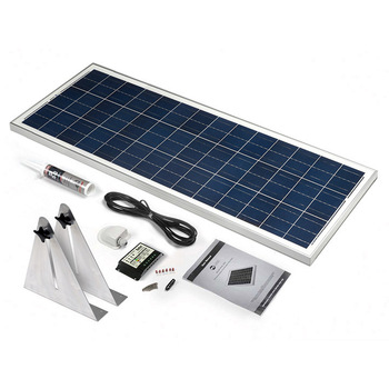 100 Watt Narrowboat Solar Kit (STBBK100)