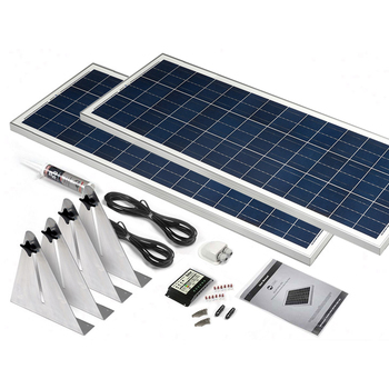 200 Watt Narrowboat Solar Kit (STBBK200)