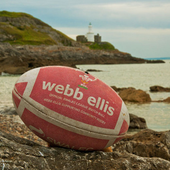 Welsh Rugby Ball lands in Mumbles