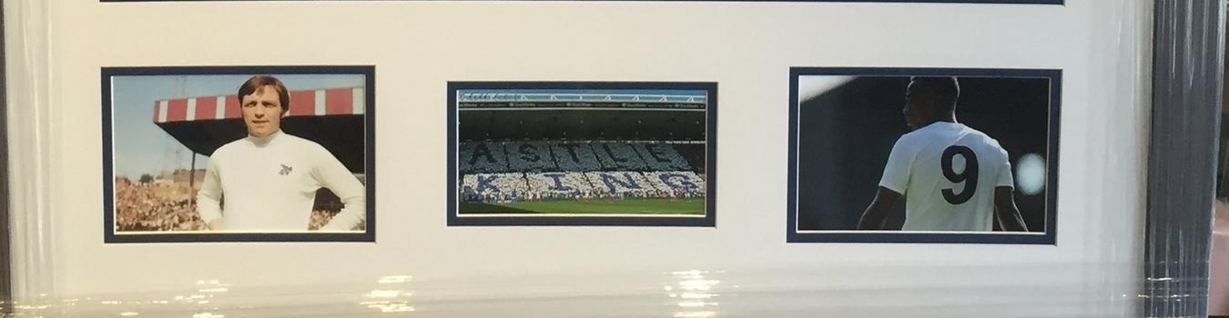 Photograph of Football Memorabilia
