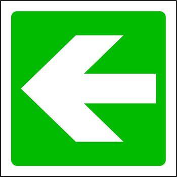 Arrow to the left