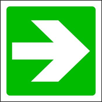 Arrow to the right