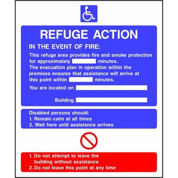Refuge Action Notice