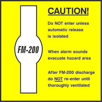 Caution FM-200