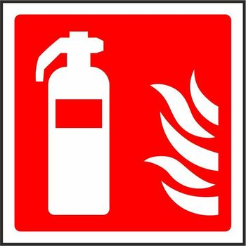 Fire extinguisher pictorial only