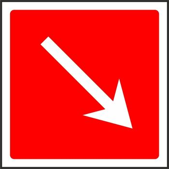 Fire Equipment arrow down and to the right