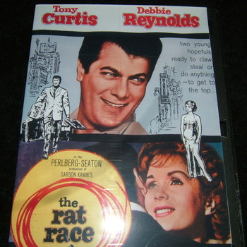 THE RAT RACE 1960 DVD