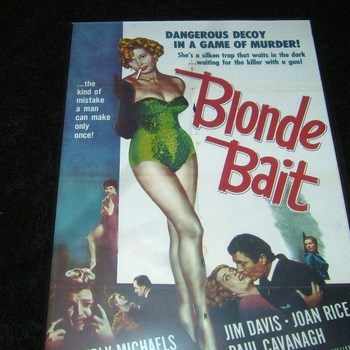 BLONDE BAIT 1954 DVD