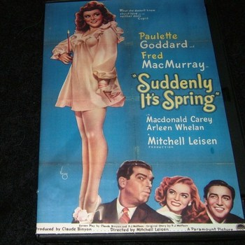 SUDDENLY IT'S SPRING 1947 DVD