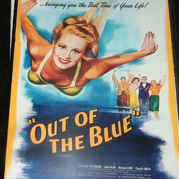 OUT OF THE BLUE 1947 DVD