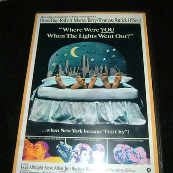 WHERE WERE YOU WHEN THE LIGHTS WENT OUT 1968 DVD