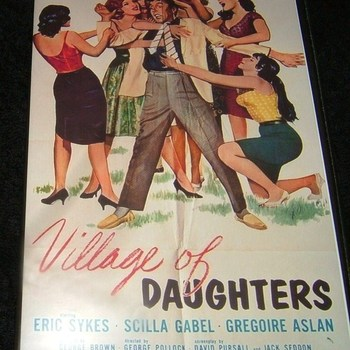 village of daughters 1962 dvd