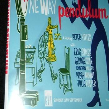 one way pendulum 1965 dvd