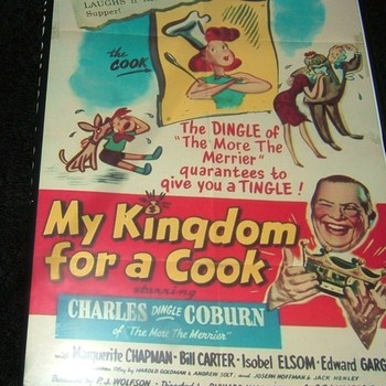 my kingdom for a cook 1943 dvd