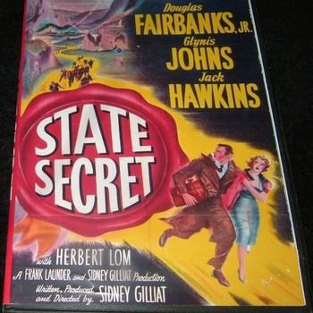 state secret 1950 dvd