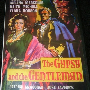 the gypsy and the gentleman 1958 dvd