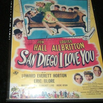 san diego i love you 1944 dvd