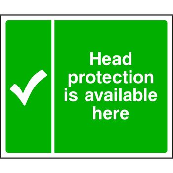 Head protection is available here