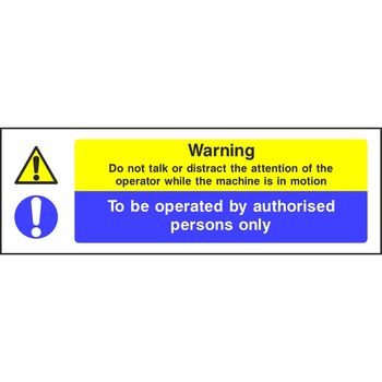 The Attention Machine >> Warning Do Not Talk Or Distract The Attention Of The Operator While