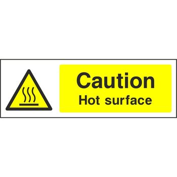 Caution Hot surface