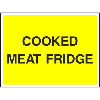 COOKED MEAT FRIDGE
