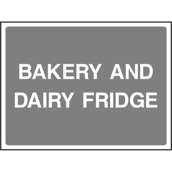 BAKERY AND DAIRY FRIDGE