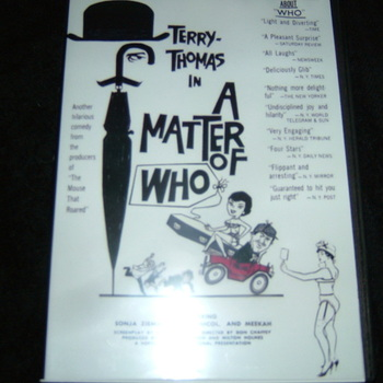 a matter of who dvd 1961