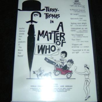 a matter of who dvd 1961
