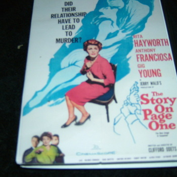 THE STORY ON PAGE ONE 1959 DVD