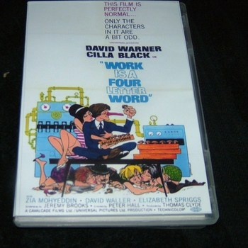 LOVE IS A FOUR LETTER WORD 1966 DVD